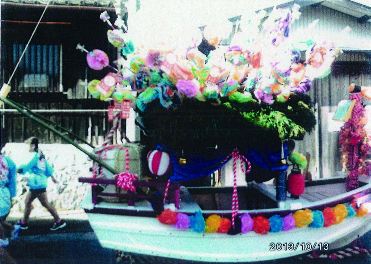 Mitake-jinja Shrine Annual Festival(Autumn Season Annual Festival Dedication Float Pulling by three districts)